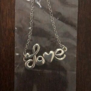Brighton love is all you need necklace